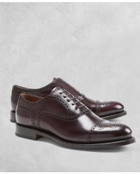 Brooks Brothers - Golden Fleece® Medallion Captoes - Lyst