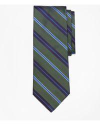 Brooks Brothers - Alternating Multi-split Stripe Tie - Lyst
