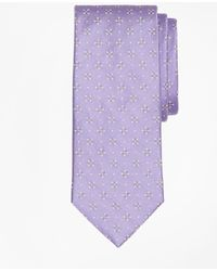 Brooks Brothers - Textured Four-petal Flower Tie - Lyst