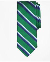 Brooks Brothers | Sidewheeler Double Stripe Tie | Lyst