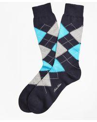 Brooks Brothers - Argyle Crew Socks - Lyst