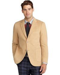 Brooks Brothers - Cambridge Camel Hair Patch Pocket Jacket - Lyst