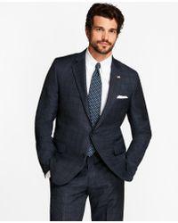 Brooks Brothers - Golden Fleece® Regent Fit Windowpane Suit - Lyst