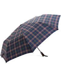 Brooks Brothers - Signature Tartan Stick Mini Umbrella - Lyst
