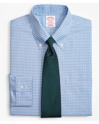 Brooks Brothers - Brookscool® Madison Classic-fit Dress Shirt, Non-iron Ground Check - Lyst