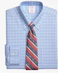 Brooks Brothers - Brookscool® Madison Classic-fit Dress Shirt, Non-iron Glen Plaid - Lyst