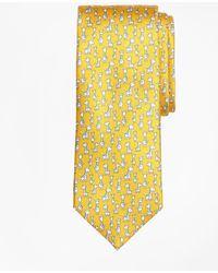 Brooks Brothers - Giraffe Print Tie - Lyst