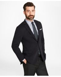Brooks Brothers - Regent Fit Two-button Wool Jersey Blazer - Lyst