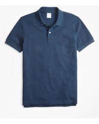 Brooks Brothers - Slim Fit Supima® Cotton Performance Polo Shirt - Lyst