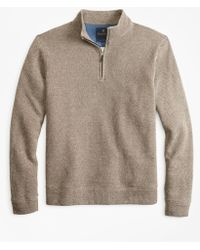 Brooks Brothers - Brushed French Terry Half-zip - Lyst