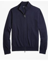 Brooks Brothers - Supima® Cotton Full-zip Cardigan - Lyst