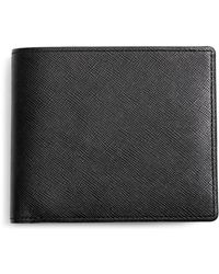 Brooks Brothers - Saffiano Leather Euro Wallet - Lyst