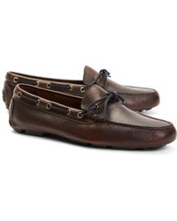Brooks Brothers - Pebble Leather Driving Mocs - Lyst