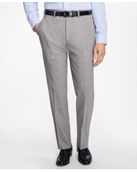 Brooks Brothers - Madison Fit Brookscool® Houndstooth Trousers - Lyst