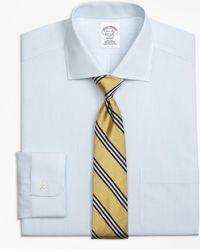 Brooks Brothers - Non-iron Regent Fit Mini Pinstripe Dress Shirt - Lyst