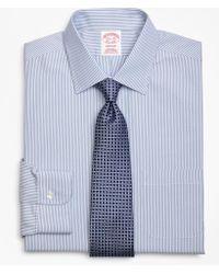 Brooks Brothers - Madison Classic-fit Dress Shirt, Non-iron Tonal Framed Stripe - Lyst