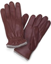 Brooks Brothers - Deerskin Cashmere Lined Gloves - Lyst