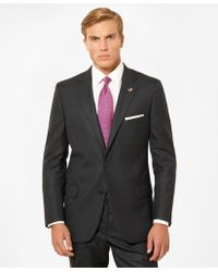 Brooks Brothers - Fitzgerald Fit Tic 1818 Suit - Lyst