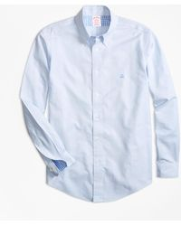 Brooks Brothers - Non-iron Madison Fit Stripe Sport Shirt - Lyst