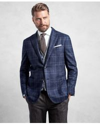 Brooks Brothers - Golden Fleece® Blue Plaid Sport Coat - Lyst