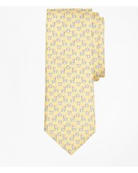 Brooks Brothers - Crab And Flag Motif Print Tie - Lyst