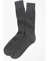 Brooks Brothers | Cotton Cushion Sole Socks | Lyst