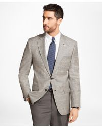 Brooks Brothers - Madison Fit Saxxontm Wool Check With Deco Sport Coat - Lyst