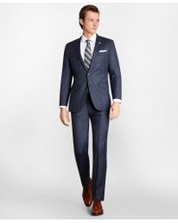 Brooks Brothers - Milano Fit Plaid 1818 Suit - Lyst