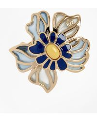 Brooks Brothers - Small Floral Brooch - Lyst