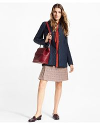Brooks Brothers - Water-repellent Diamond-quilted Car Coat - Lyst