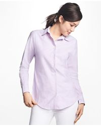 Brooks Brothers | Classic-fit Supima® Cotton Oxford Forward-point Shirt | Lyst