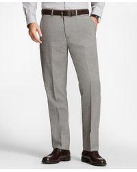 Brooks Brothers - Regent Fit Check Trousers - Lyst