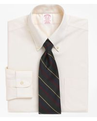 Brooks Brothers - Non-iron Madison Fit Button-down Collar Dress Shirt - Lyst