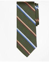 Brooks Brothers - Alternating Sidewheeler Stripe Tie - Lyst