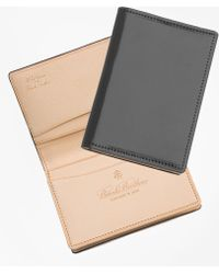 Brooks Brothers - Cordovan Card Case - Lyst