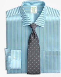 Brooks Brothers - Madison Classic-fit Dress Shirt, Non-iron Tonal Bengal Stripe - Lyst