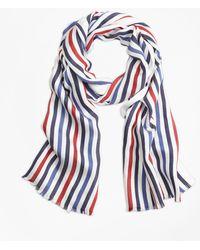 Brooks Brothers - Multi-color Stripe Scarf - Lyst