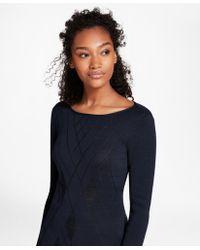 Brooks Brothers - Argyle Cotton-blend Sweater - Lyst