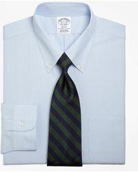 Brooks Brothers - Regent Fit Button-down Collar Dress Shirt - Lyst