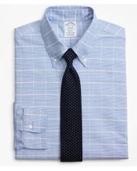 Brooks Brothers - Original Polo® Button-down Oxford Regent Fitted Dress Shirt, Glen Plaid - Lyst