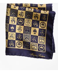 Brooks Brothers - Limited-edition 200th Anniversary Silk Pocket Square - Lyst