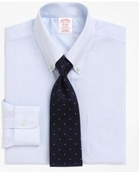 Brooks Brothers - Non-iron Madison Fit Mini Pinstripe Dress Shirt - Lyst