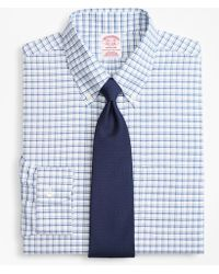 Brooks Brothers - Brookscool® Madison Classic-fit Dress Shirt, Non-iron Sidewheeler Windowpane - Lyst