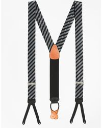 Brooks Brothers - Formal Diagonal Striped Suspenders - Lyst