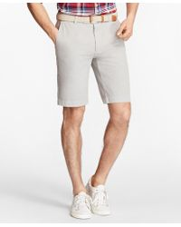 "Brooks Brothers - Garment-dyed 11"" Bermuda Shorts - Lyst"