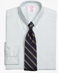 Brooks Brothers - Madison Fit Original Polo® Button-down Oxford Stripe Dress Shirt - Lyst