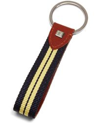 Brooks Brothers - Stripe Key Fob - Lyst