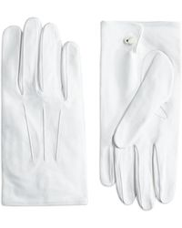 Brooks Brothers - White Formal Gloves - Lyst
