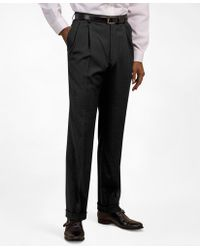 Brooks Brothers - Pleat-front Suiting Essential Trousers - Lyst