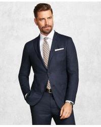 Brooks Brothers - Golden Fleece® Brookscloudtm Blue Neat Suit - Lyst